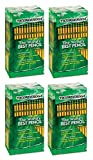 Dixon SLGJHJ Woodcase Pencil, HB #2, Yellow Barrel, 96/Pack 4 Pack