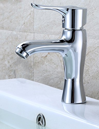 Guoke Sink Basin Faucet Hot And Cold Water Tap Fine Copper Corrosion Inhibitor Net Lead Lowered Basin Tap Touch The Bathroom Sink Faucet