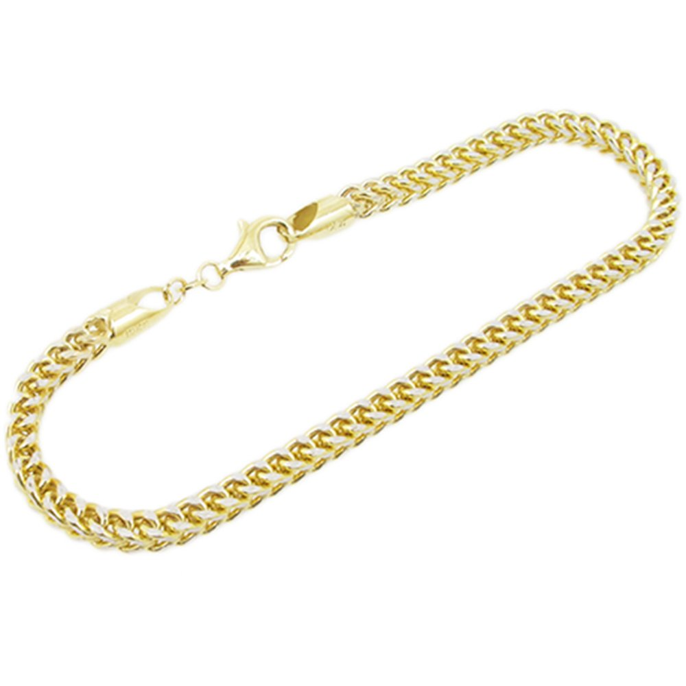 IcedTime 10K Yellow Gold Mariner Chain 18 inch long