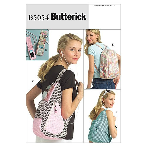 5054 Young Adult Backpacks and Mp3 Player Cover, One Size Only ()