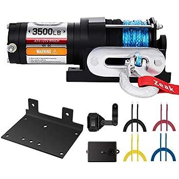 2500 lb  Electric ATV/Utility Winch with Wireless Remote
