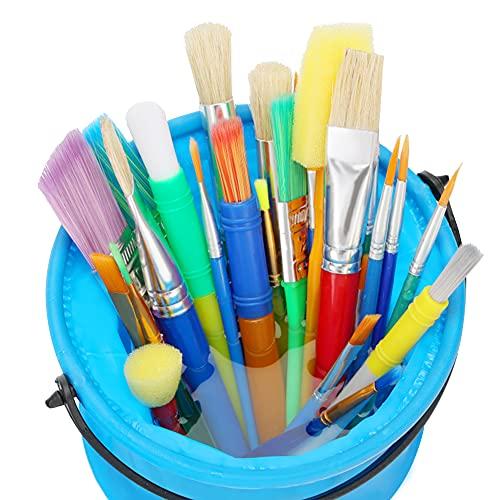 29 Piece Paintbrush & Bucket Set
