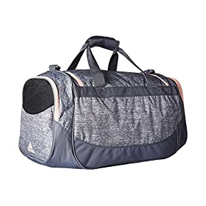 adidas Unisex Medium Defense Duffel Onix Jersey/Onix/Haze Coral One Size