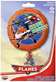 Anagram International HX Disney Planes Happy Birthday Party Balloons, Multicolor