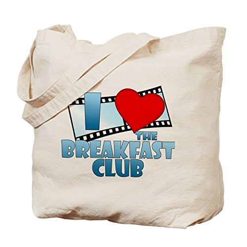 CafePress–I cuore della colazione Club–Borsa di tela naturale, panno borsa per la spesa