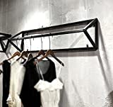 Women's clothing shop display rack / shelf / clothing rack / display rack / side shelf / iron wall hanger / (100 30 30cm)