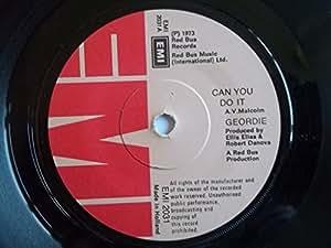 "Geordie Can You Do It 7"" EMI EMI2031 EX 1973"
