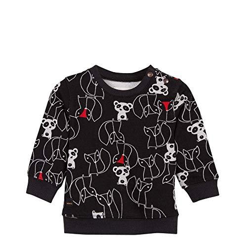 Fleece Sweatshirt with Animal Graphic Print