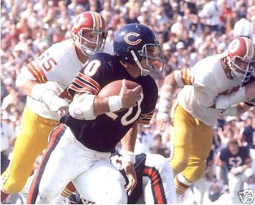 Mike Adamle Chicago Bears Unsigned 8X10 Photo