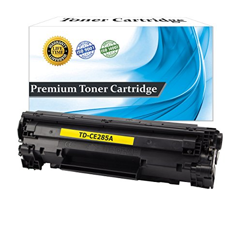 Top Dog Compatible Replacement HP CE285A Toner Cartridge (HP 85A) for use with HP LaserJet Pro P1102 HP LaserJet Pro P1109W HP LaserJet Pro M1130 HP LaserJet Pro M1132 HP LaserJet Pro M1134 HP LaserJet Pro M1136 HP LaserJet Pro M1137 HP LaserJet Pro M1138