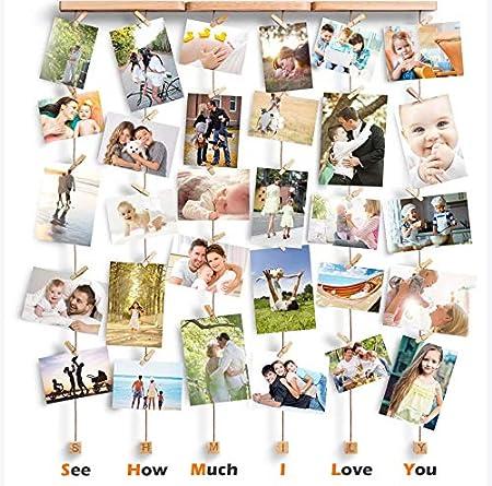 Dremisland photo Hanging Display String et chevilles-À faire soi-même Cadres Photo Collage se