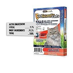 Vetiq VetGuard Flea & Tick Drops for Cats