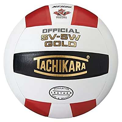 Tachikara SV5W Gold Competition Premium Leather Volleyball from Tachikara