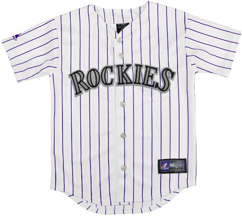 Colorado Rockies Authentic Mlb Jersey (MLB Colorado Rockies Boy's Replica Jersey, White, Small)
