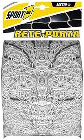 COPPIA RETI PER PORTE CALCETTO PALLAMANO CM 300X200 MAGLIA ESAGONALE