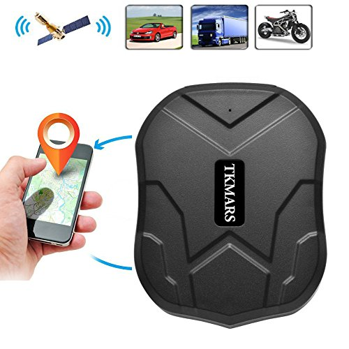 TK-Star Car GPS Tracker Worldwide Vehicle Realitme Tracking with No Monthly  Fee Waterproof Portable Magnetic Tracking Device 90 Days Long