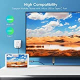 Renkchip 2-in-1 Micro USB/Type C to HDMI Cable for