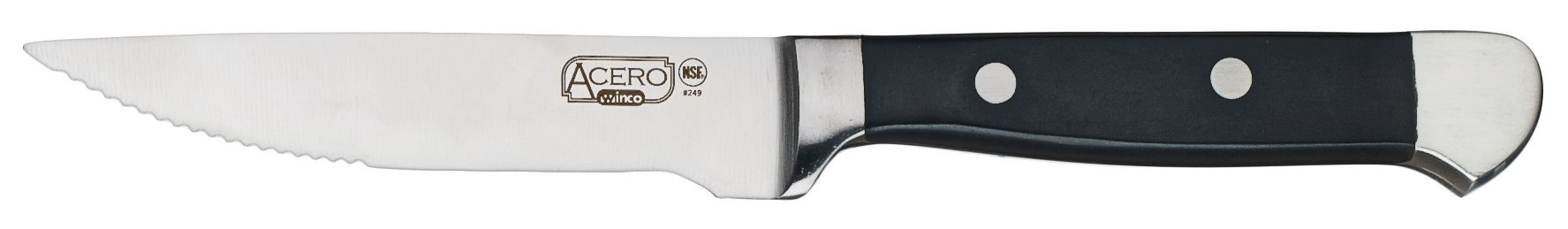 Winco SK-12 12 Piece Bulk Pack Acero Gourmet Steak Knives by Winco (Image #1)