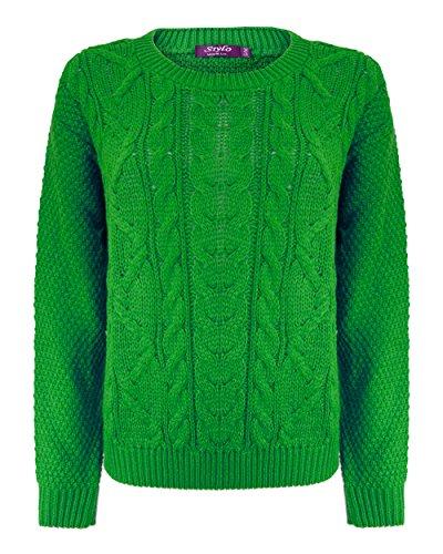 Generation Fashion - Jerséi - suéter - para mujer verde jade