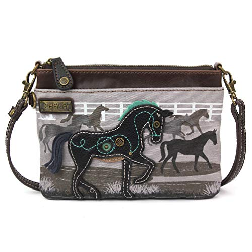 Chala Mini Crossbody/Purse with Convertible Strap Stylish, Compact, Versatile (Safari -