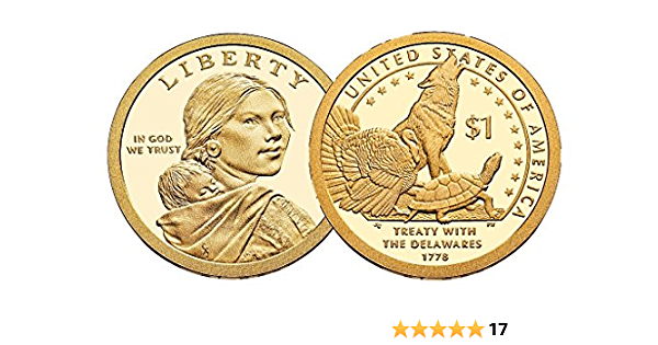 2015 Mint State BU Condition * P/&D Mint   Sacagawea Native American Dollars
