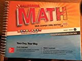img - for California Math - Your Common Core Edition CCSS Course 1 Volume 2 Teacher Walkaround Edition book / textbook / text book
