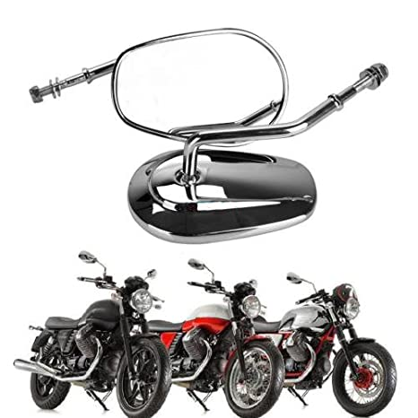 Amazon com: Ambienceo 8mm Motorcycle Rear View Rearview Mirror