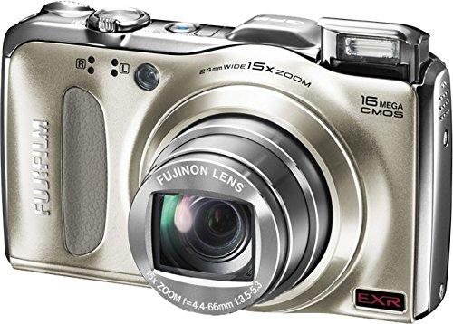 Fujifilm FinePix F550EXR Digital Camera (Gold)