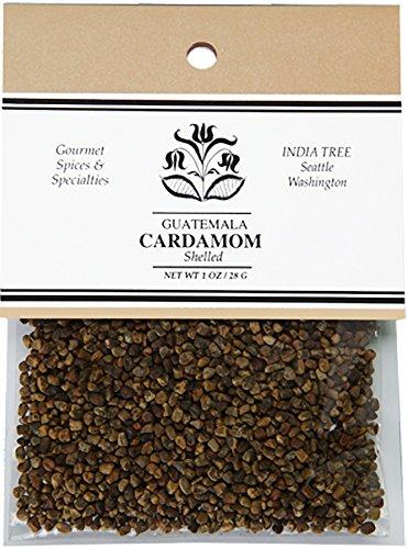 India Tree Cardamom, Shelled, 1 oz (Pack of 4)