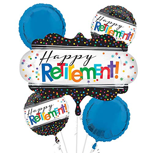 ANAGRAM INTERNATIONAL 3281201 Foil Balloon Bouquet, Various, Multi ()