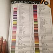 photo about Free Printable Dmc Color Chart identify DMC Colour Chart E-book for Diamond Portray : The In depth