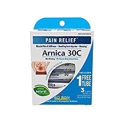 Boiron Arnica Montana, 1 Pack Of 3 Tubes, 30c Pain Relief Medicine