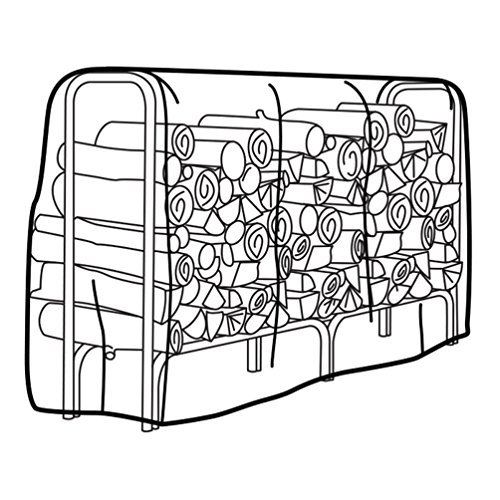 Weather Wrap Large Firewood Rack Cover