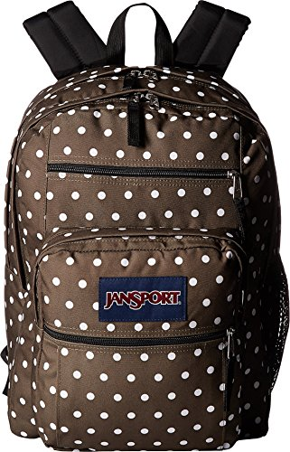 Big White JanSport Machine Viking Student Backpack Green Dots Red xqAw4d1f