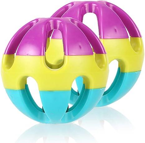 Anjing - 2 Bolas Coloridas para Loros de Mascotas, para periquitos ...