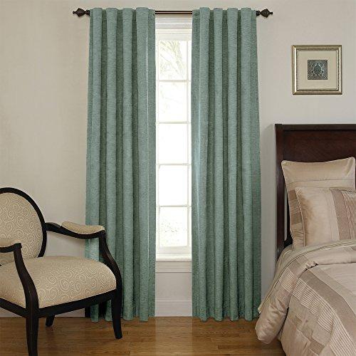 Sound Asleep Room-Darkening Noise-Reducing Backtab Window Panel, Blue River, 63-Inch X 42-Inch