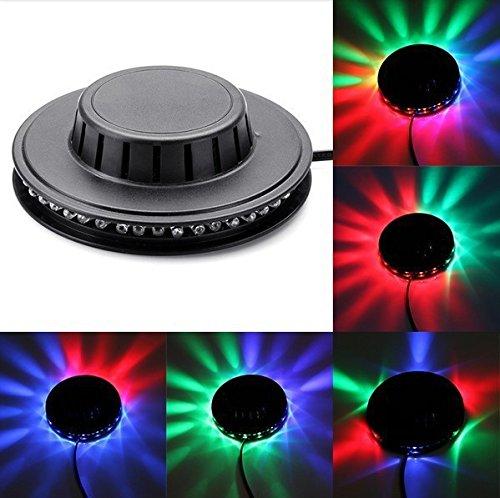 [48 LED RGB Bar Party Effect Light Lamp New Popular Magic Disco Dj Stage Lighting Sunflower] (Replica Makeup)