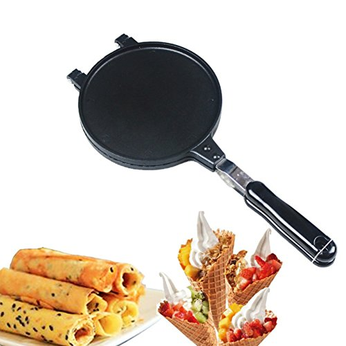 - Crispy Egg Roll Pan Bakeware Omelet Cupcake Pancake Maker Egg Waffle Non-stick Baking Cooking Tools