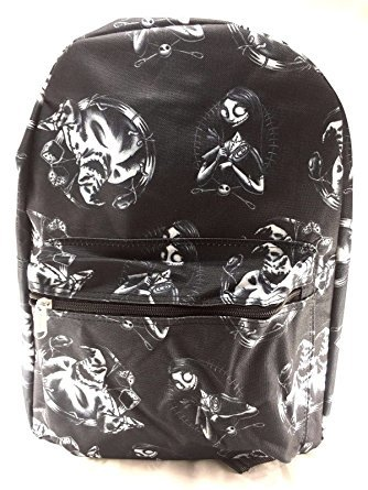 716b19eac28 Image Unavailable. Image not available for. Color  Disney Nightmare Before  Christmas Sally Allover Print Backpack ...