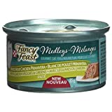 Purina Fancy Feast Medleys White Meat Chicken Primavera Pate Cat Food 85g Can