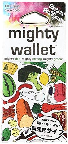 Dynomighty - Mighty Wallet - Geldbörse aus Tyvek Groceries