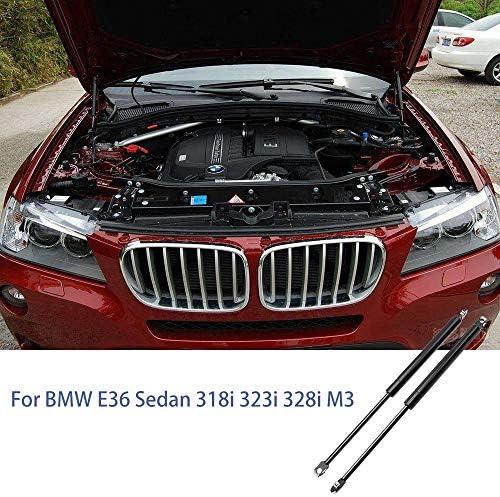 XHULIWQ 2個の車のボンネットフードリフトは、BMW 318iS E36 1993-1997のショックストラットをサポートします