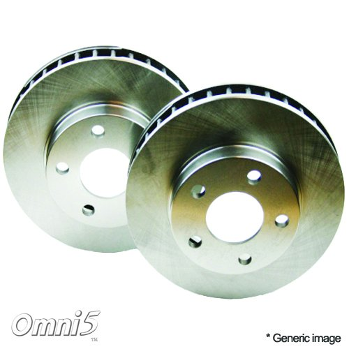 RK0006-02 : Omni 5 Disc Brake Rotor 2 Pieces AP54070 (Interchange # : GP54070, 100-54070, 121.61057, BR54070)