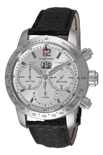 Chopard Men's 168998-3002 Mille Miglia Jacky Ickx Limited Fourth Series Silver Dial Watch