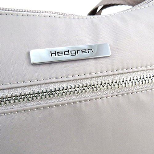 Borsa a tracolla Hedgrengrigio - 23x18x9 cm.