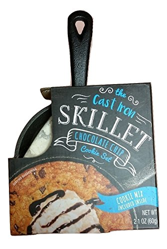 The Cast Iron Skillet Chocolate Chip Cookie Set, 2 pc