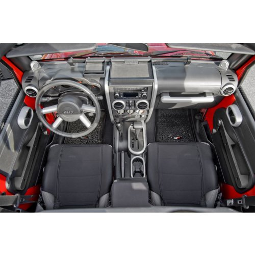 Rugged Ridge 11151.92 Brushed Silver Interior Trim Accent Kit