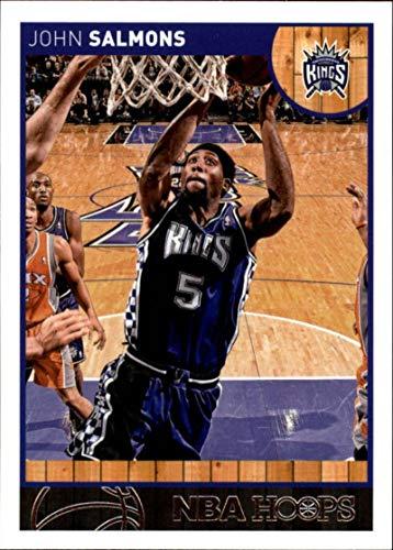 2013-14 NBA Hoops #110 John Salmons Sacramento Kings Official Basketball Card made by Panini