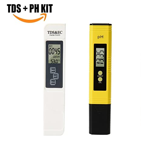 Goosoo - Medidor digital de prueba de calidad del agua de PH pH (comprobador de