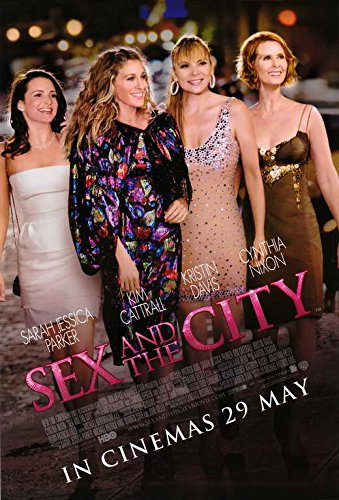 Sex & the city movie poster